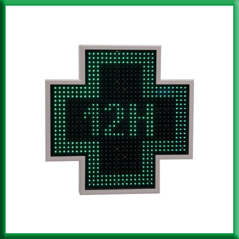 Cruz de farmacia Griega 80