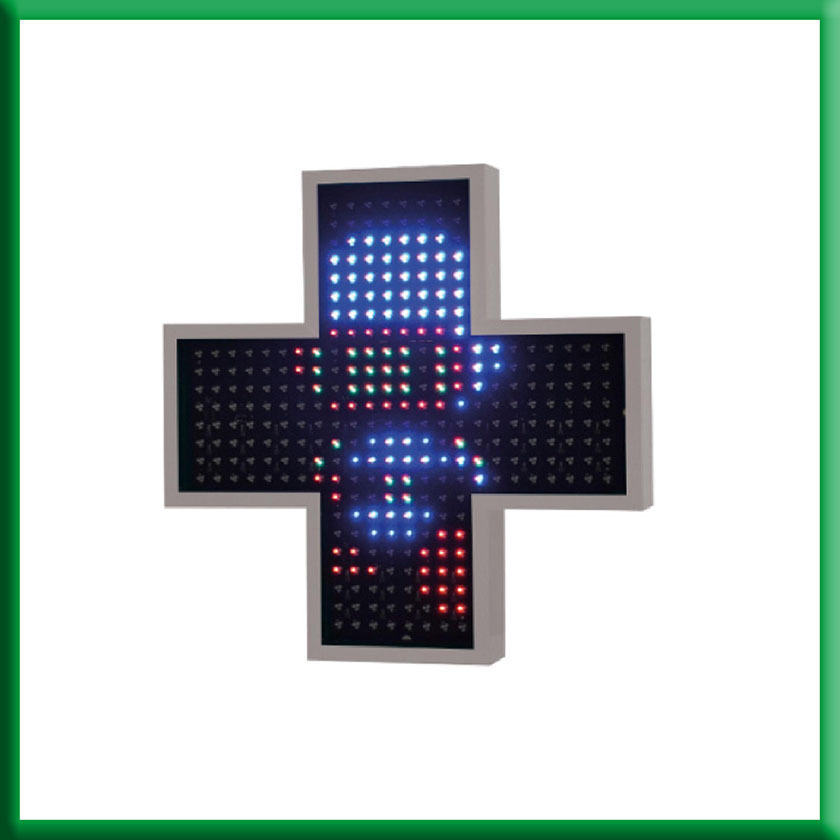 Cruz de farmacia Latina 85 Color