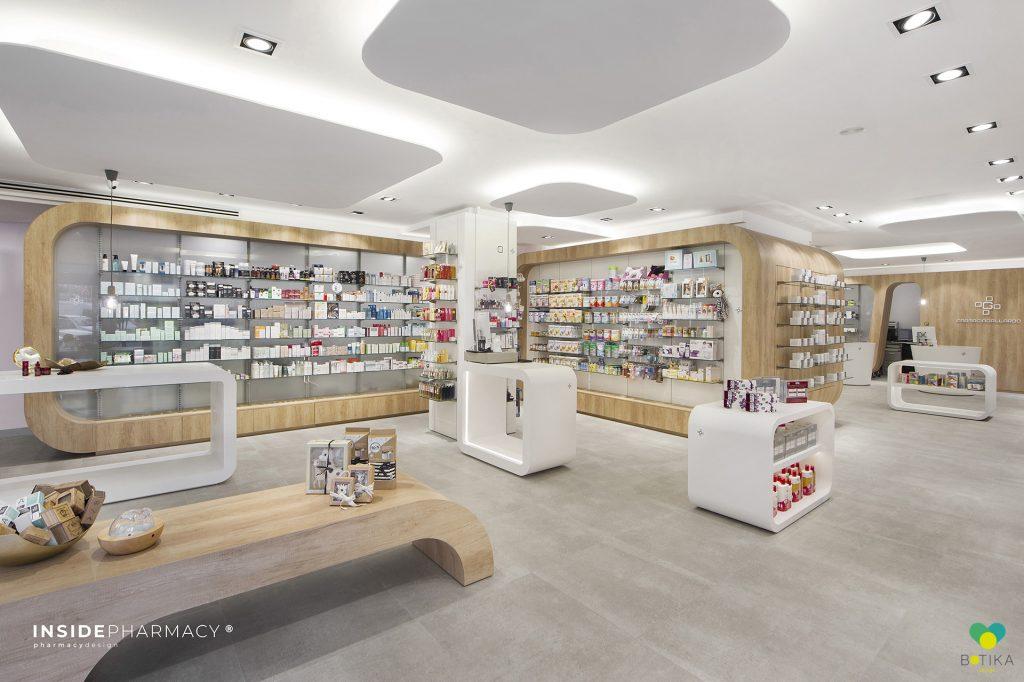 Interiorismo de farmacias en Canarias Botika