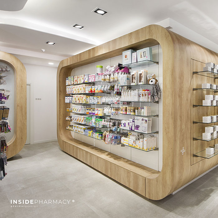Interiorismo i+Farma Canarias Inside Pharmacy