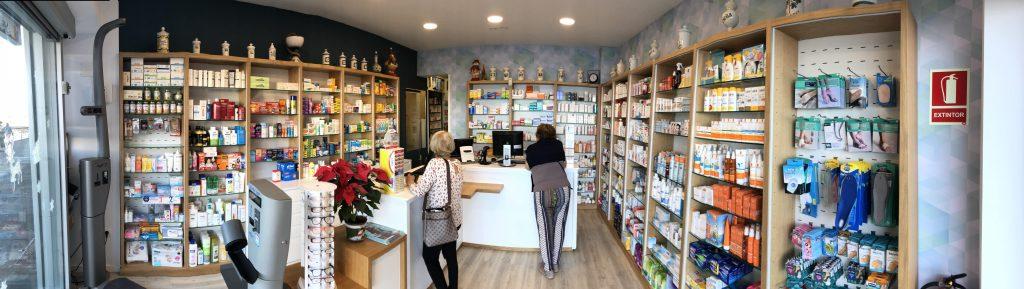 Proyecto de interiorismo en una farmacia con I+farma