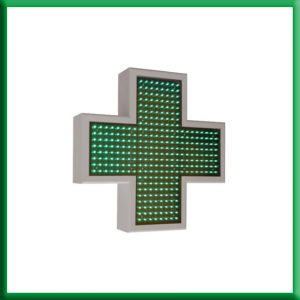 Cruz de farmacia Griega 60